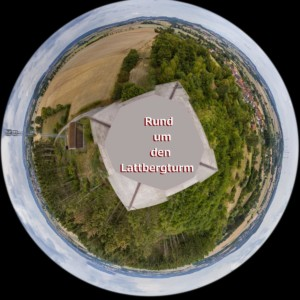 Panorama-Little-Planet vom Lattbergturm